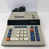 Vintage CASIO DL-220 Desktop Printing Calculator Adding Machine Works Great