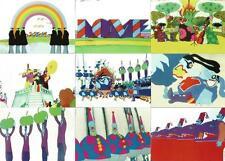 The Beatles Yellow Submarine tarjetas de coleccionista completo 72 Tarjeta Base Conjunto de duocards