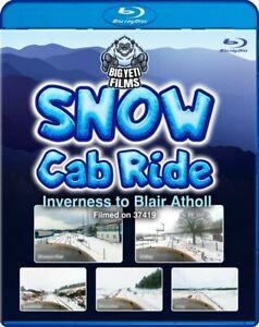 Snow Cab Ride: Inverness to Blair Atholl  *Blu-ray