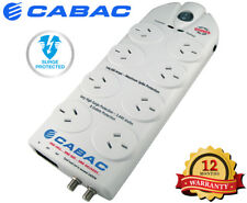 Cabac 8 Way Surge Protection Power Board with Line Filter