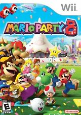 Mario Party 8 [Nintendo Wii, NTSC, Mini-games, Family Social Party Game] NEW