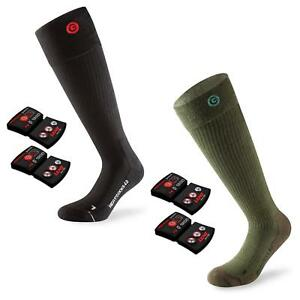 Lenz Unisex Heiz Socken 4.0 + Akku rcB1200 Toe Cap Outdoor Herren Damen Winter