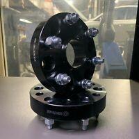 Triton  30mm Aluminium Wheel Spacers L200 Black Raptor Mitsubishi Challenger