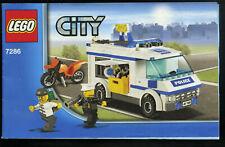 LEGO-- 7286 -- Nur Bauanleitung -- CITY -- Gefangenentransporter --