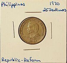 1970 Philippines 25 Sentimos