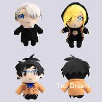YURI!!! on ICE Yuri Katsuki Victor Nikiforov Yuri Plisetsky Plush Doll Toy 11''