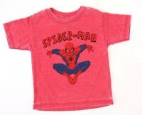 Marvel Mad Engine Spider-Man Toddler T-Shirt Red Sizes 2T 3 T NWT