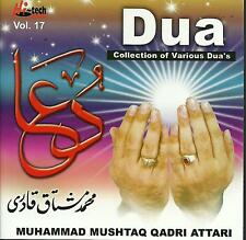 MUHAMMAD MUSHTAQ QADRI ATTARI - DUA - BRAND NEW NAAT CD - FREE UK POST