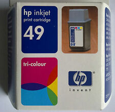 Original HP 49 hp 51649ae 22.8 ml tri-colour