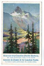 Canadian Pacific Railway - Art Postcard 1909
