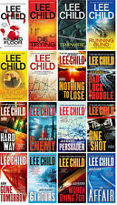 Jack Reacher Series Paperback Collection Set 1- 16 by Lee Child! Brand New!