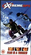 Extreme Ops, Snowboarding Film, VHS Video Tape