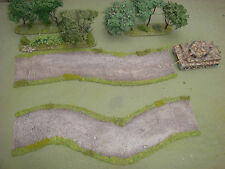 WARGAMES 20mm 28mm DIRT ROAD warhammer rapid fire handmade by FAT FRANK