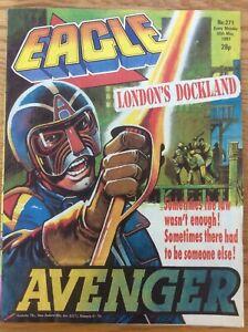 Eagle #271 30/5/87 Dan Dare, Doomlord, Survival, Death Wish, IPC UK comic