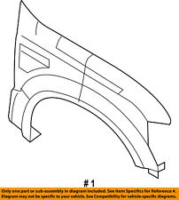 FORD OEM 08-10 F-250 Super Duty-Front Fender Quarter Panel Right 7C3Z16005A