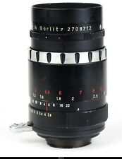 Lens Meyer Optik  Q Black Auto Trioplan N 2.8/100mm  No.2708712  for Exakta