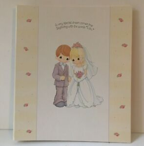 2001 Hallmark Precious Moments WCA2228 Wedding Album NEW