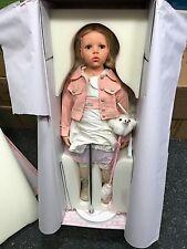 Hildegard Günzel Resin Puppe Inka 81 cm. Top Zustand