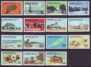 Anguilla 1967 SC 17-31 MH Set