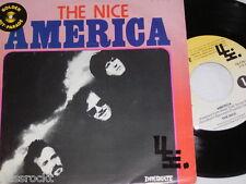 """7"""" - The Nice / America & Rondo - Belgium 1978 very rare # 2402"""