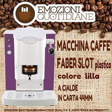 MACCHINA CAFFE A CIALDE IN CARTA 44MM FABER SLOT VIOLA