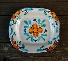 Antico piatto in ceramica siciliana S. Stefano Camastra realizzato a mano