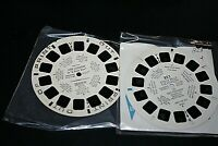 Vtg Sawyers Viewmaster Lot King Leonardo Out of Print & Chilly Willy 50s 60s -U=
