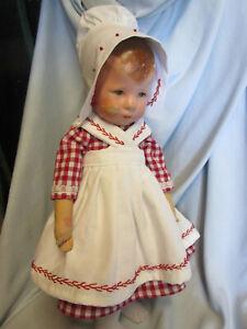 HOLLÄNDERIN ROT für Katrinchen KK-Puppe 1/Hampelchen UVP 47,90 Euro