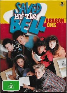 Saved By The Bell : Season 1 (DVD, 2010, 3-Disc Set)Region 4 Free Post