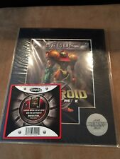 Metroid Prime Nintendo Gamecube Promotional Cell Art - Not For Resale NFR NEW!