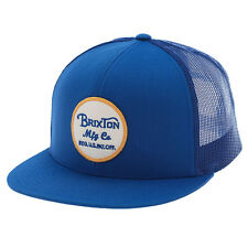 Brixton Wheeler Snapback - Blue