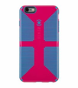 Speck Candyshell Grip Case iPhone 6 Plus and 6s Plus Lipstick Pink Jay Blue
