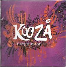 CD DIGIPACK AVEC FOURREAU KOOZA CIRQUE DU SOLEIL 18 TITRES 2008 NEUF SCELLE