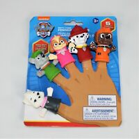 Paw Patrol Bath Time Finger Puppets: Sweetie, Rocky, Skye, Marshall and Zuma