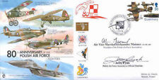 CC56c WWII WW2 80th Ann Polish Air Force signed AVM Alek Maisner RAF cover