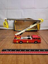 Vintage Corgi Simon Snorkel Dennis Fire Engine Truck Toy 1126