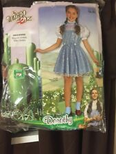 The Wizard of Oz Dorothy Sequin Child Girl Costume Halloween Rubies, Medium 8-10