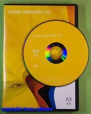 Adobe Fireworks CS3 Windows mit DVD - keine Mietversion - incl. MwSt.
