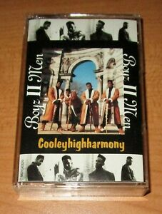 BOYZ II MEN - COOLEYHIGHHARMONY - CASSETTE TAPE - TESTED
