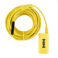 10m 8LED 1200P WiFi Borescope Inspection Camera Snake Tube for iPhone