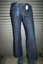 Mavi Jeans Femmes 558 10558-296 Foncé Rinser Neuf Filles Courbe Pantalon Vintage