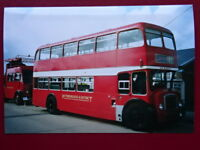 PHOTO  PETERBOROUGH & DISTRICT BRISTOL FLF6G  BUS NO JAH553D