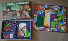 GAME OF GAMES 1980s BOARD GAME by MB VINTAGE RETRO