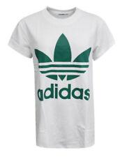 Camisas, camisetas y tops de mujer blancos adidas