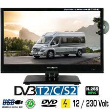 Reflexion LDD167 LED-TV 15,6 Zoll 39,6 cm Fernseher DVD DVB-S/S2 -C -T2 12/230V