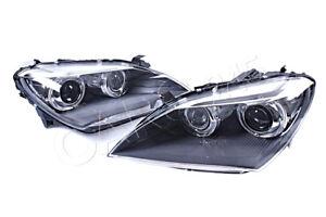 Genuine BMW 640i 650 ix M6 F06 F12 F13 AHL Bi-Xenon Headlights Left + Right LHD