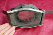 "Vintage SCUBA Rubber Face Mask, by ""BRIT MARINE Made in England"", for display"