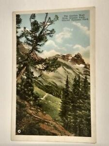 Postcard MT The Garden Wall from Granite Park - Glacier National Park - Kiser