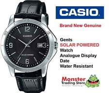 CASIO WATCH MTP-VS02L-1ADF SOLAR POWERED WITH DATE 12 MONTH WARRANTY