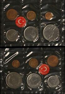 1968 Republic of Turkey Mint Set